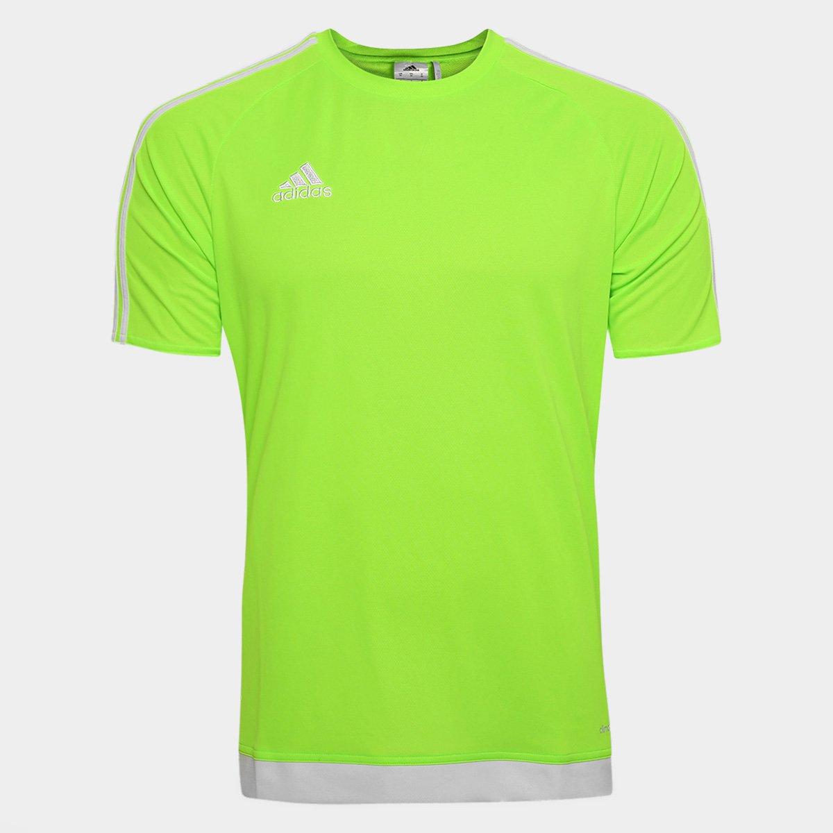 5782f9f7670 Camisa Adidas Estro 15 Masculina - Verde - Compre Agora