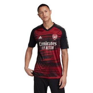 Camisa Arsenal Pré Jogo 20/21 Adidas Masculina