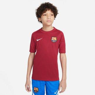 Camisa Barcelona Juvenil Treino 21/22 Nike