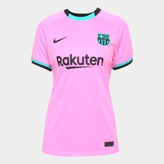 Camisa Barcelona Third 20/21 s/n° Torcedor Nike Feminina