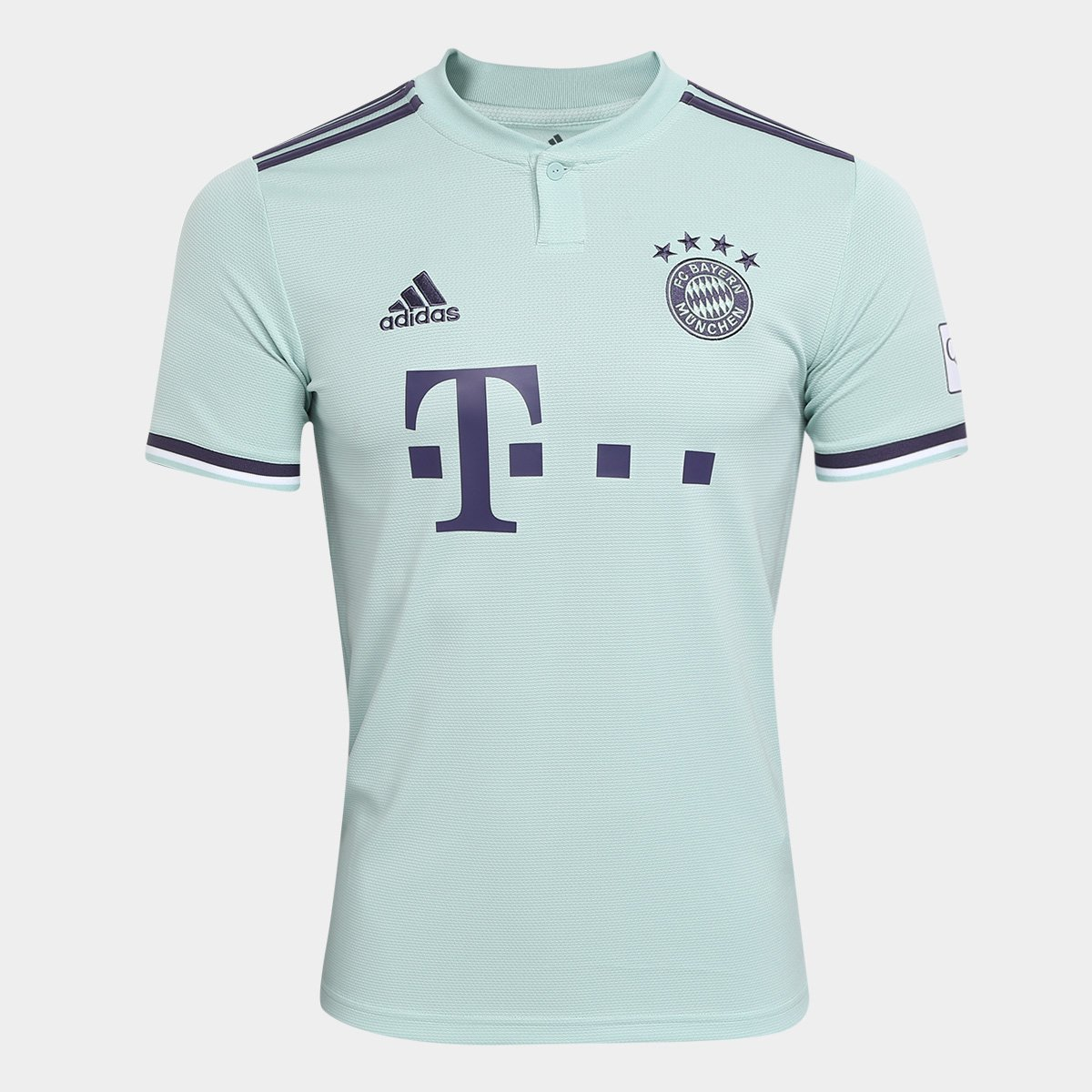42f2a4de4 Camisa Bayern de Munique Away 2018 s/n° - Torcedor Adidas Masculina - Verde  claro | Allianz Parque Shop