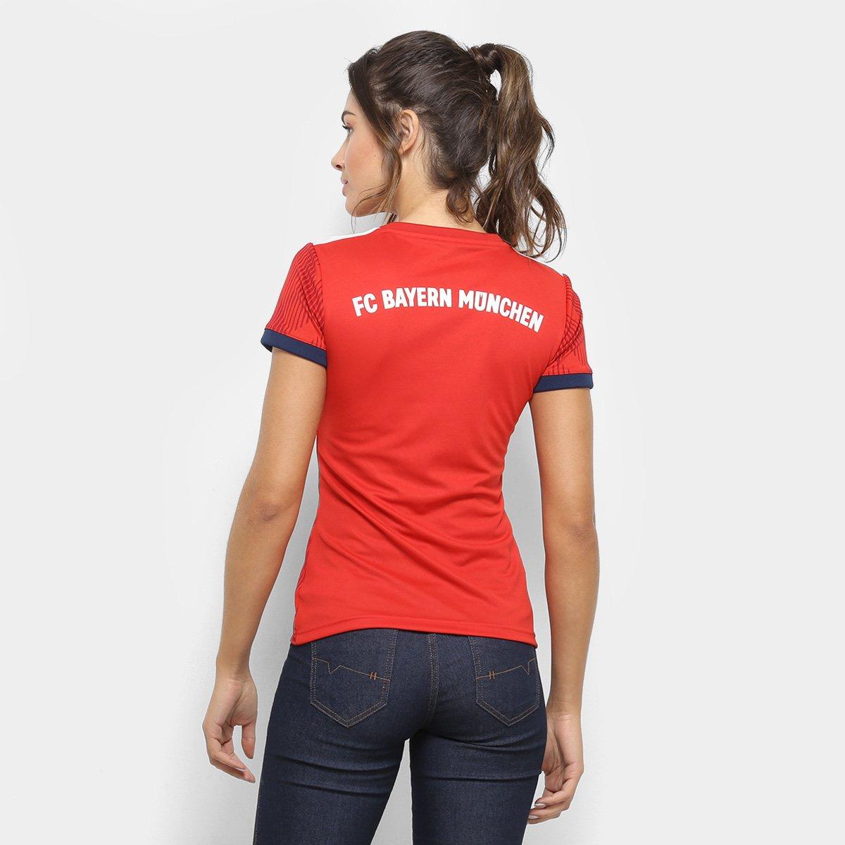... Camisa Bayern de Munique Home 2018 s n° - Torcedor Adidas Feminina ... b6388d02e9364