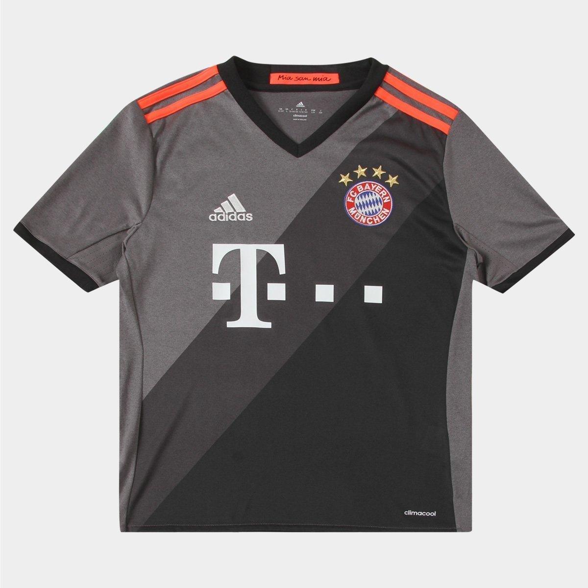 ad623d688bf06 Camisa Bayern de Munique Infantil Away 16 17 s nº - Torcedor Adidas -  Compre Agora