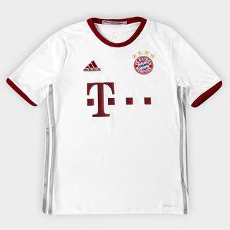 Camisa Bayern de Munique Infantil Third 16/17 s/nº Torcedor Adidas