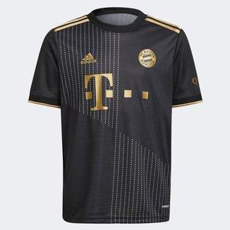 Camisa Bayern de Munique Juvenil Away 21/22 s/n° Torcedor Adidas