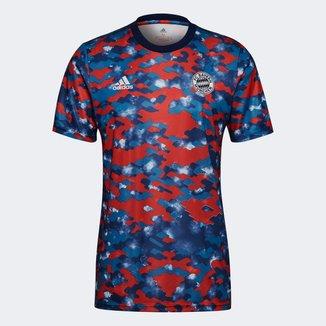 Camisa Bayern de Munique Pré-Jogo 21/22 Adidas Masculina