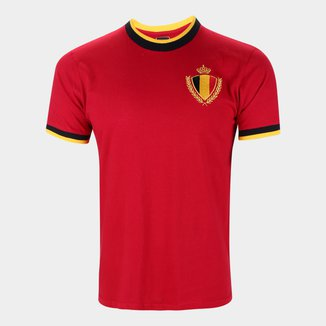 Camisa Bélgica Edição Limitada Masculina