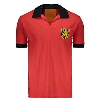 Camisa Bélgica Retrô N° 10 Masculina