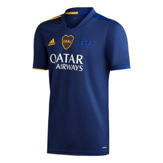 Camisa Boca Juniors IV 20/21 s/n° Torcedor Adidas Masculina