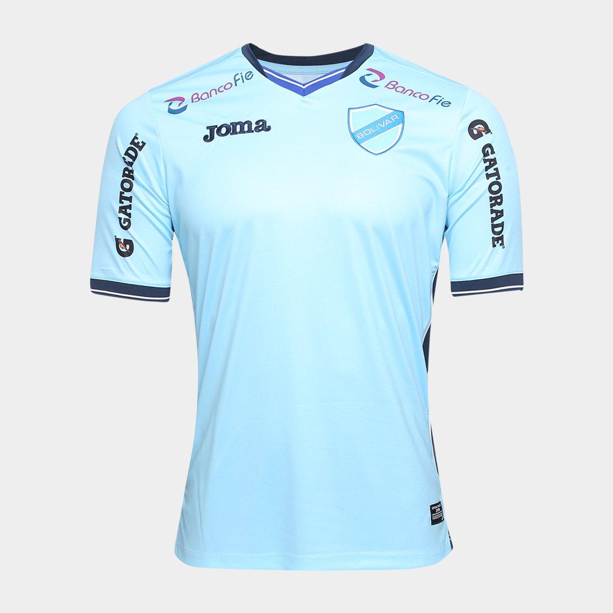 da8f535a93 Camisa Bolivar Home 17 18 s n° - Torcedor Joma Masculina - Azul ...