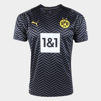Camisa Borussia Dortmund Away 21/22 s/n° Torcedor Puma Masculina