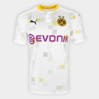Camisa Borussia Dortmund Third 20/21 s/n° Torcedor Puma Masculina