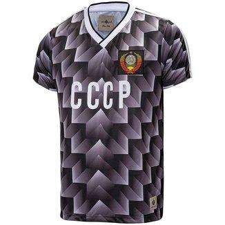 Camisa CCCP Retrô 1988 União Soviética Masculino