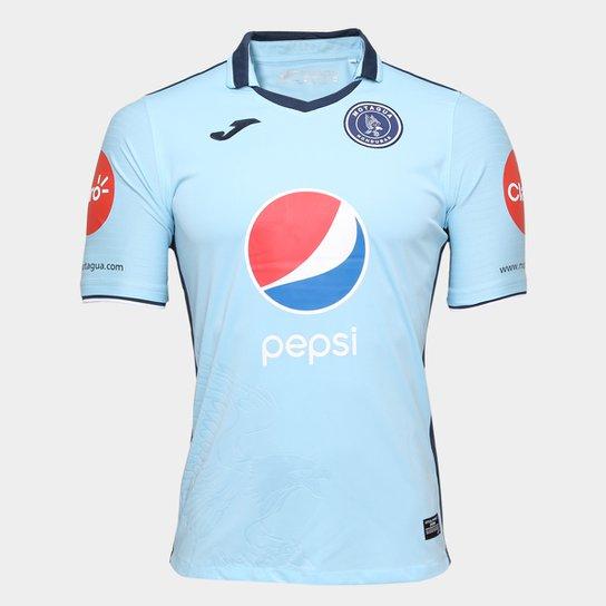 Camisa Club Deportivo Motagua Away 17/18 s/n°- Torcedor Joma Masculina - Azul