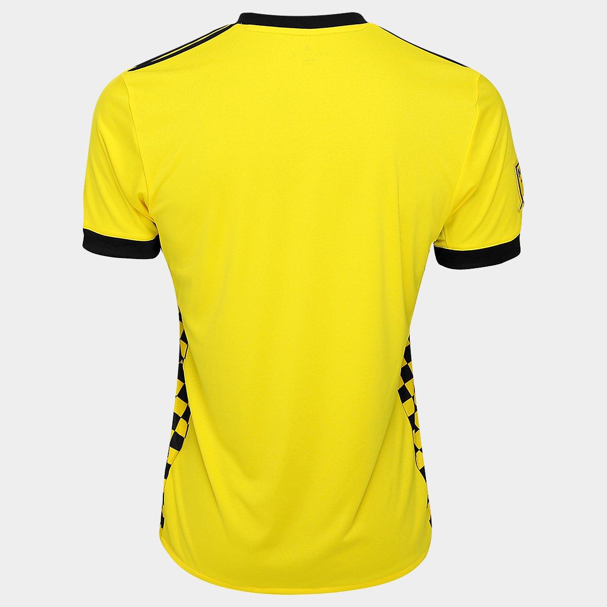 ... Camisa Columbus Crew MLS Home 17 18 s nº Torcedor Adidas Masculina ... 61e012a94401d