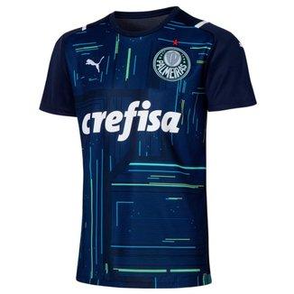 Camisa de Goleiro Palmeiras I 21/22 s/n° Torcedor Puma Masculina