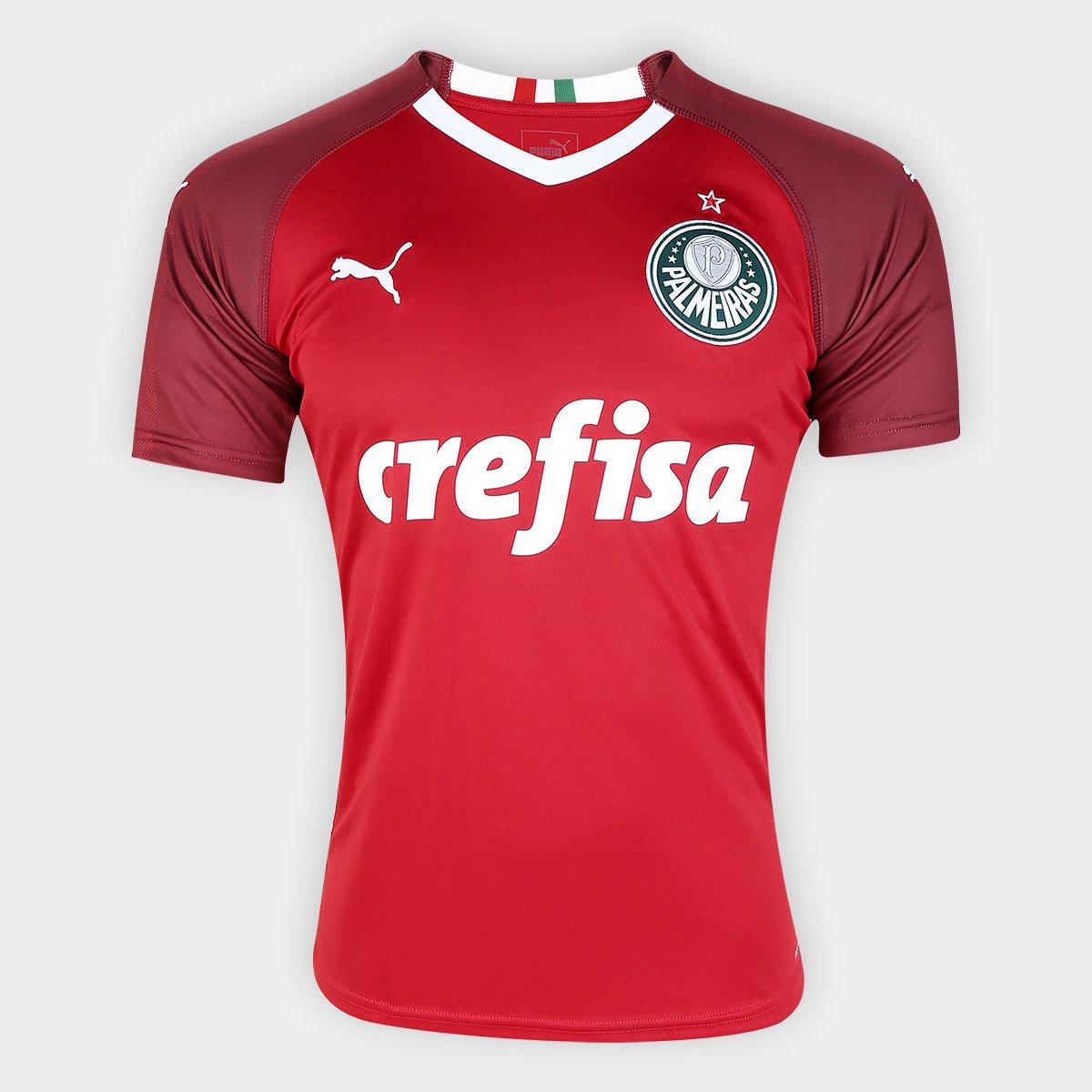 23cc22b523479 Camisa de Goleiro Palmeiras III 19 20 s n° - Torcedor Puma Masculina -  Compre Agora