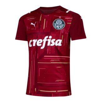 Camisa de Goleiro Palmeiras III 21/22 s/n° Torcedor Puma Masculina