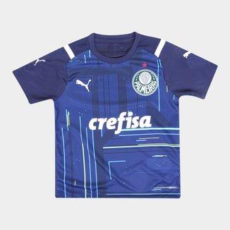 Camisa de Goleiro Palmeiras Juvenil I 21/22 s/n° Torcedor Puma