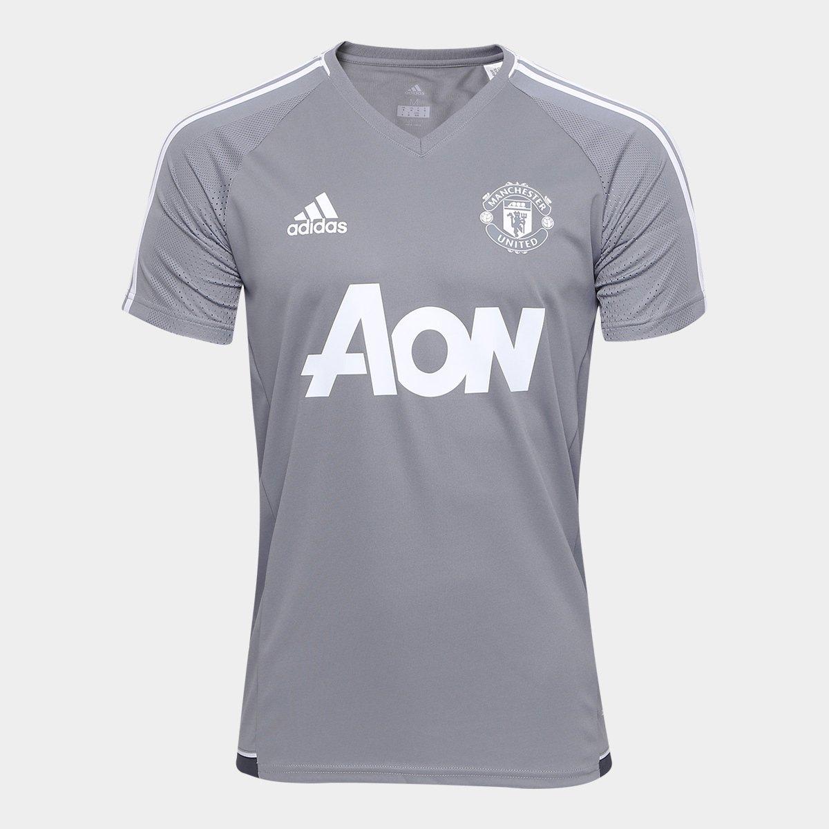 5b69ee81d Camisa de Treino Manchester United 17 18 Adidas Masculina - Compre Agora