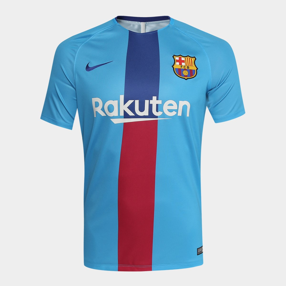 945a37add Camisa do Barcelona 19 20 Treino Nike Masculina - Azul Royal - Compre Agora