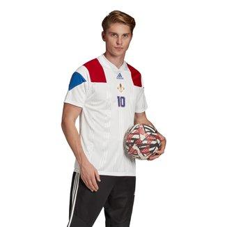 Camisa França 2020 nº 10 Adidas Masculina