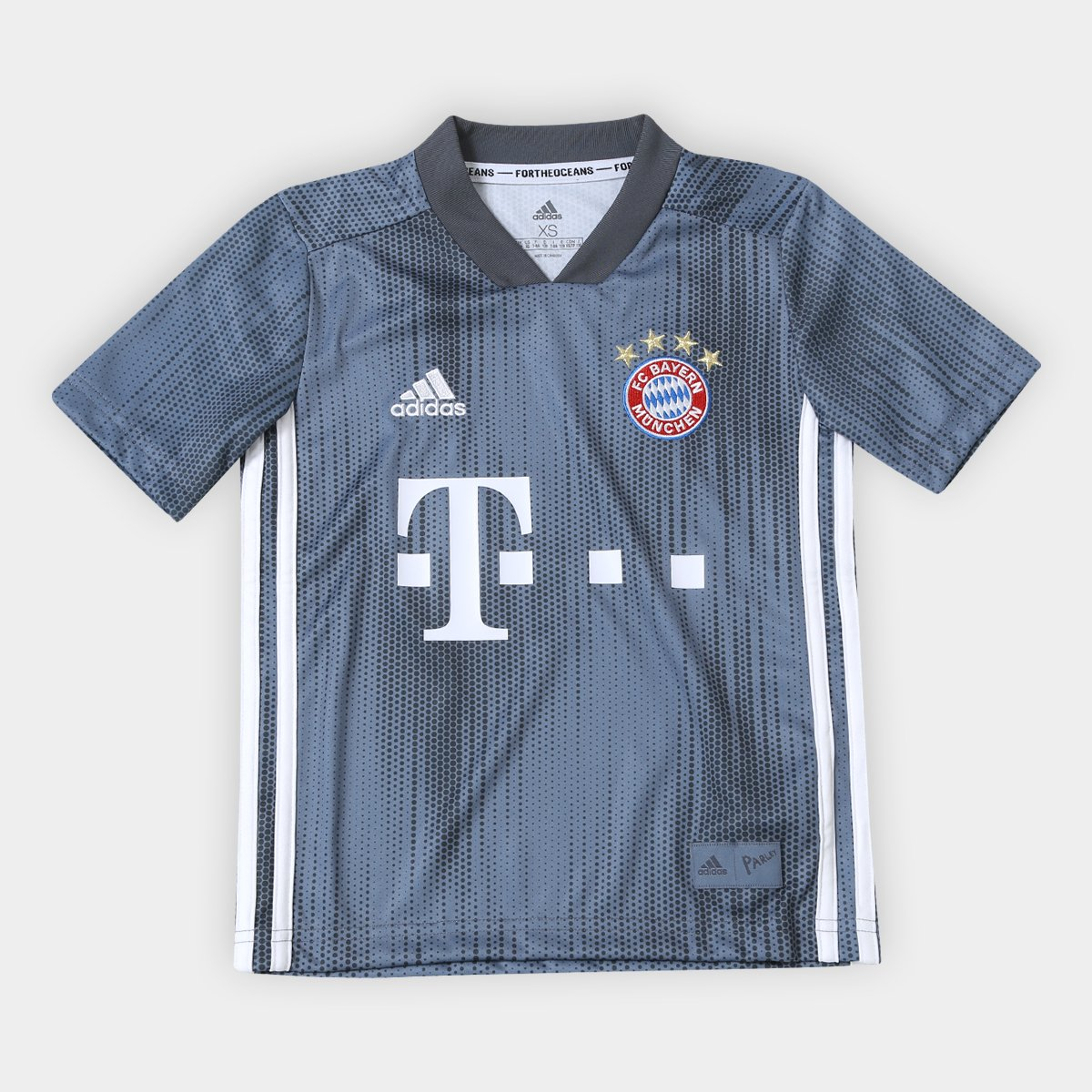 110062c0f9 Camisa Infantil Bayern de Munique Third 2018 s/n° - Torcedor Adidas |  Allianz Parque Shop