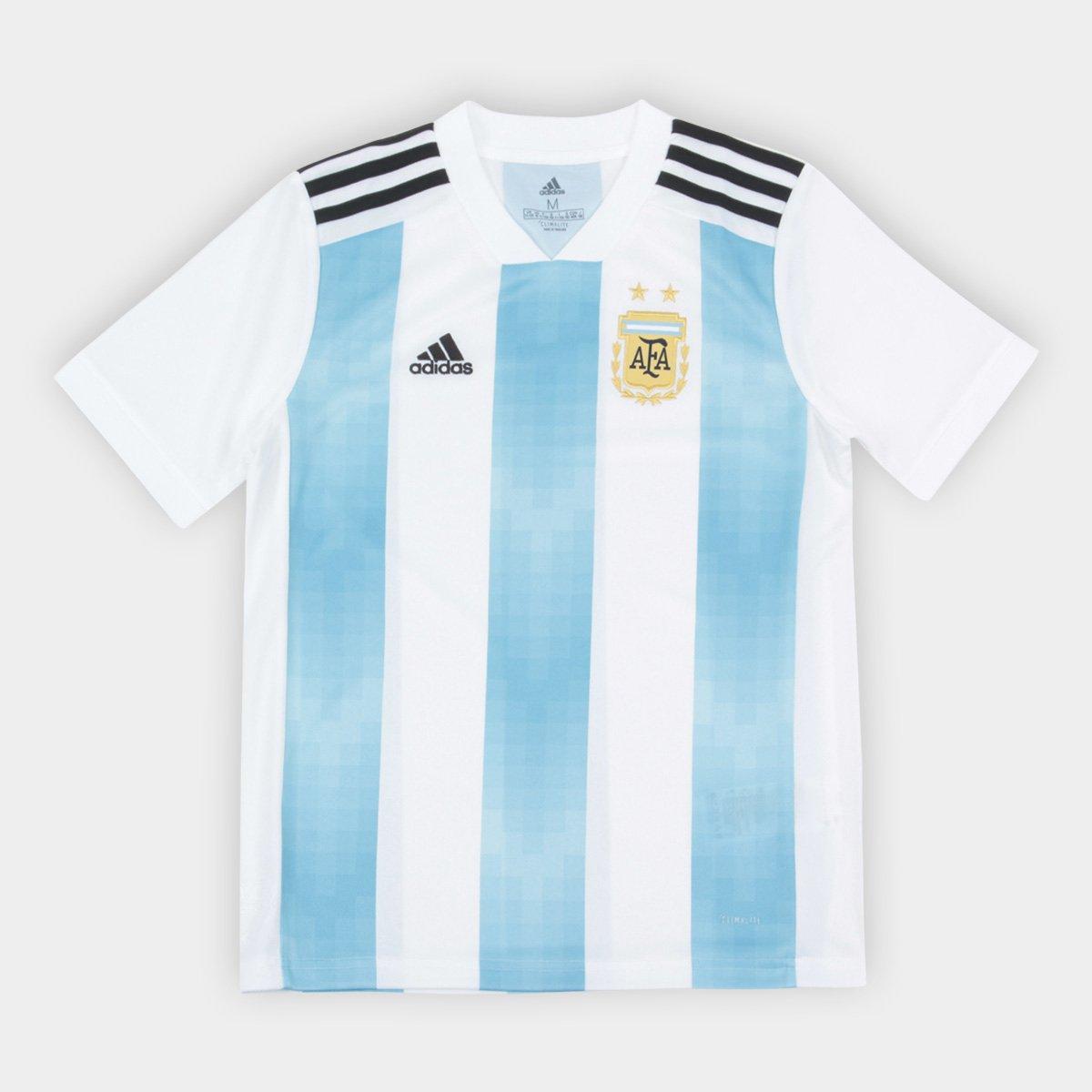 017512b2d Camisa Infantil Seleção Argentina Home 2018 s n° Torcedor Adidas - Compre  Agora