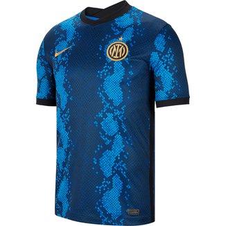 Camisa Inter de Milão Home 21/22 s/n° Torcedor Nike Masculina