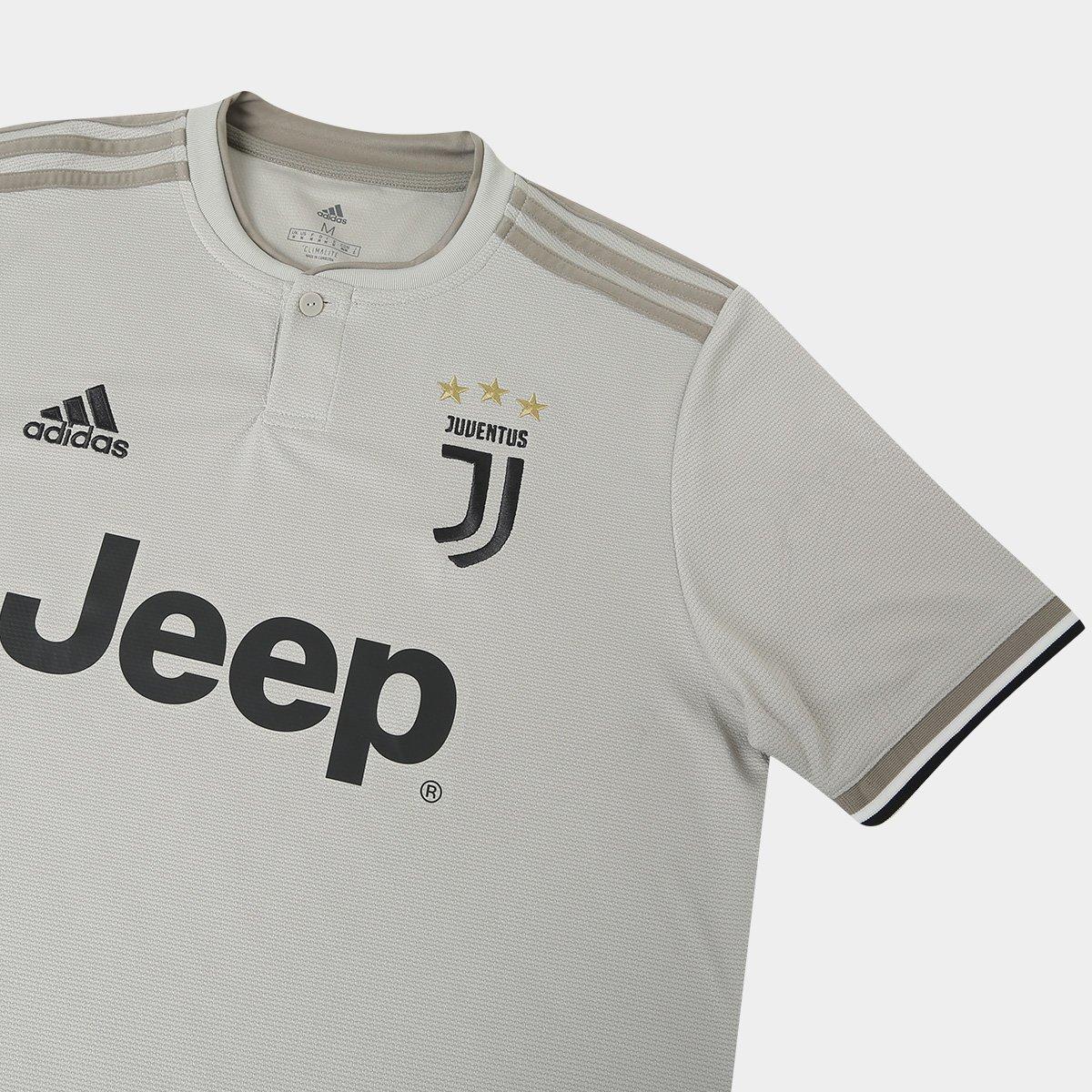 653c38d610 Camisa Juventus Away 2018 s n° - Torcedor Adidas Masculina - Off ...