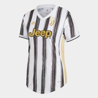 Camisa Juventus Home 20/21 s/nº Torcedor Adidas Feminina