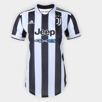 Camisa Juventus Home 21/22 s/n° Torcedor Adidas Feminina