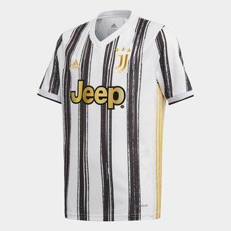 Camisa Juventus Infantil Home 20/21 s/nº Torcedor Adidas