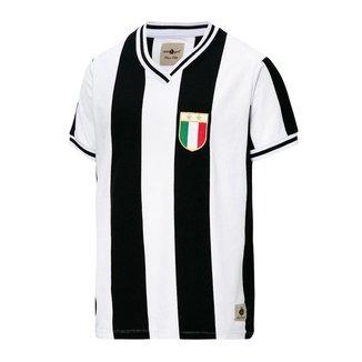 Camisa Juventus Retrô Anos 80 Masculina
