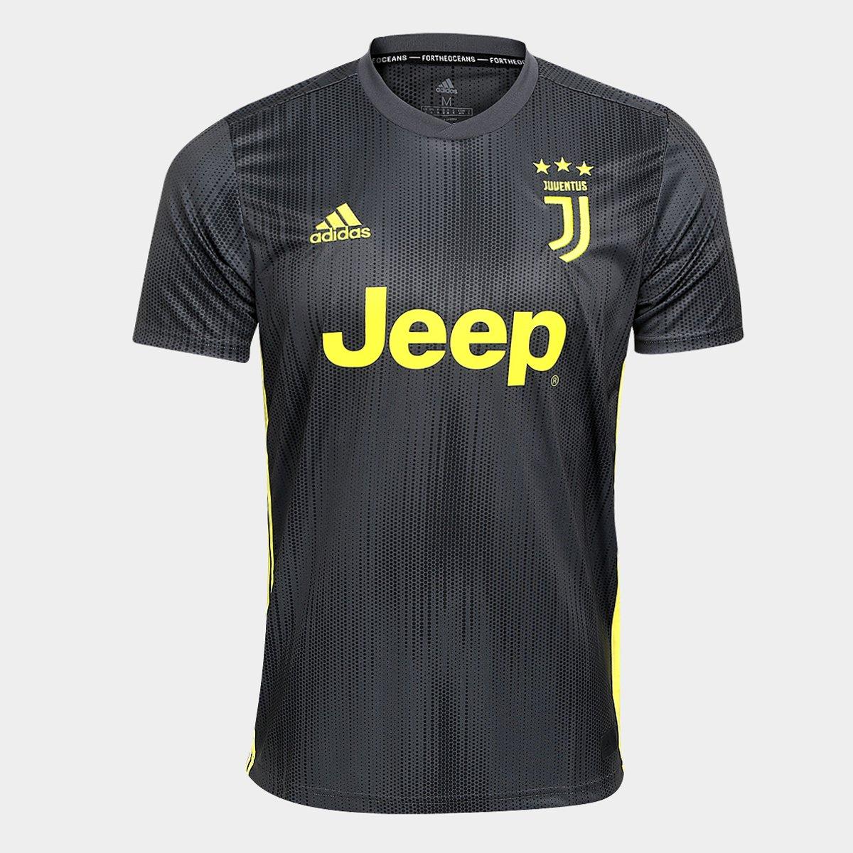 d725aa50c991d Camisa Juventus Third 2018 s n° - Torcedor Adidas Masculina - Compre Agora