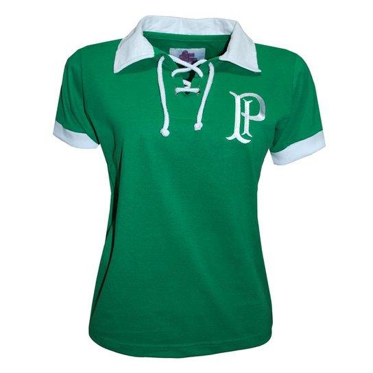 Camisa Liga Retrô Palmeiras 1914/15 Feminino - Verde