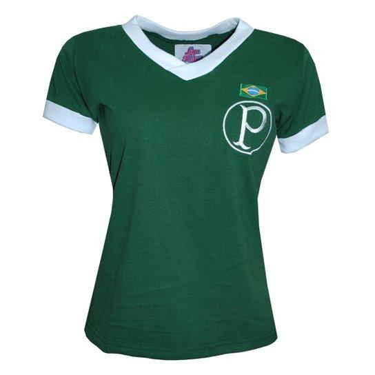 Camisa Liga Retrô Palmeiras 1951 Feminina - Verde