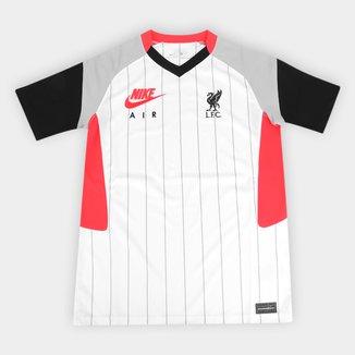 Camisa Liverpool Air Max 21/22 Nike Feminina
