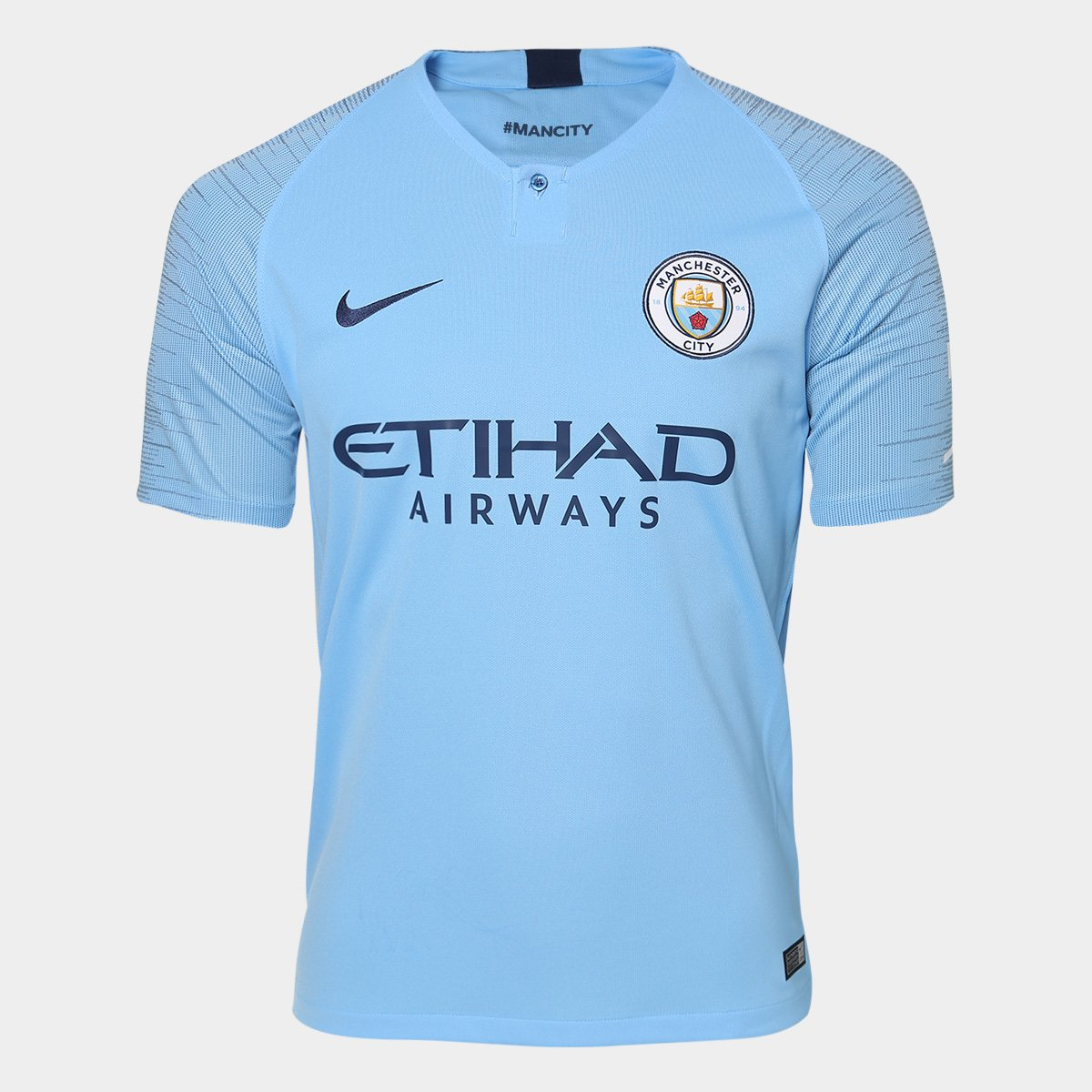 932e9b2b96 Camisa Manchester City Home 2018 s n° - Torcedor Nike Masculina ...