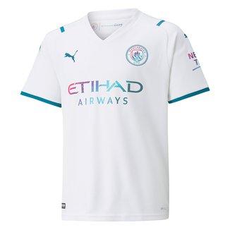 Camisa Manchester City Juvenil Away 21/22 s/n° Torcedor Puma