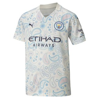 Camisa Manchester City Juvenil Third 20/21 s/n° Torcedor Puma
