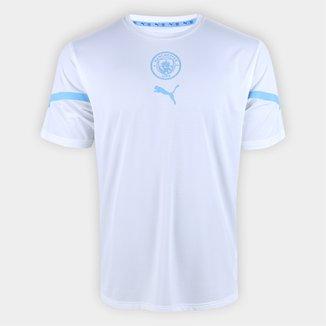 Camisa Manchester City Pré-Jogo 21/22 Puma Masculina