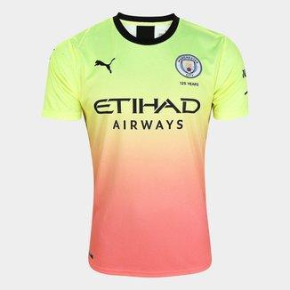 Camisa Manchester City Third 19/20 s/n° Torcedor Puma Masculina