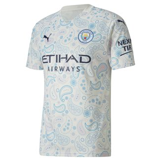 Camisa Manchester City Third 20/21 s/n° Torcedor Puma Masculina