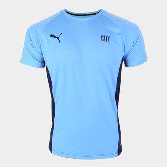 Camisa Manchester City Treino 21/22 Puma Masculina