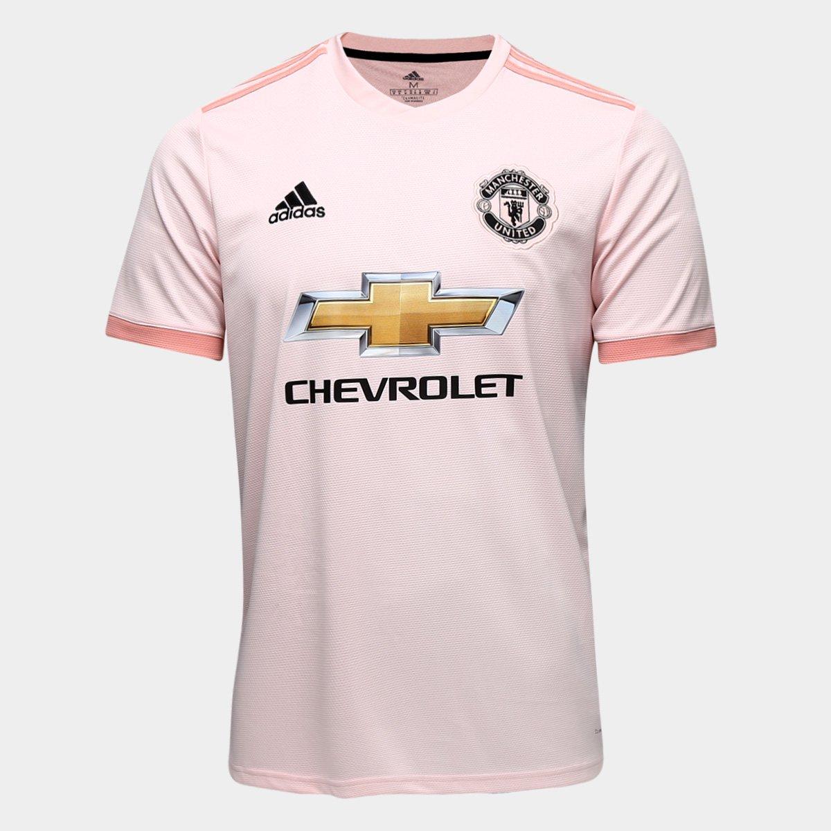 e4b1f3c8f8b02 Camisa Manchester United Away 2018 s/n° - Torcedor Adidas Masculina |  Allianz Parque Shop