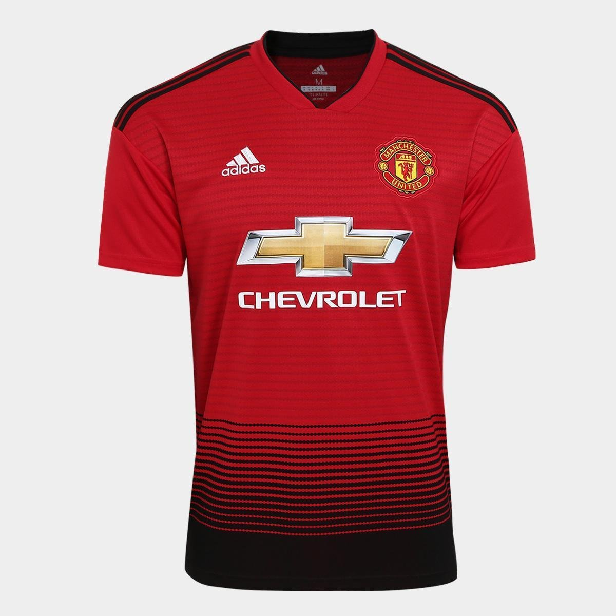 5d40c45a0 Camisa Manchester United Home 2018 s n° Torcedor Adidas Masculina - Compre  Agora