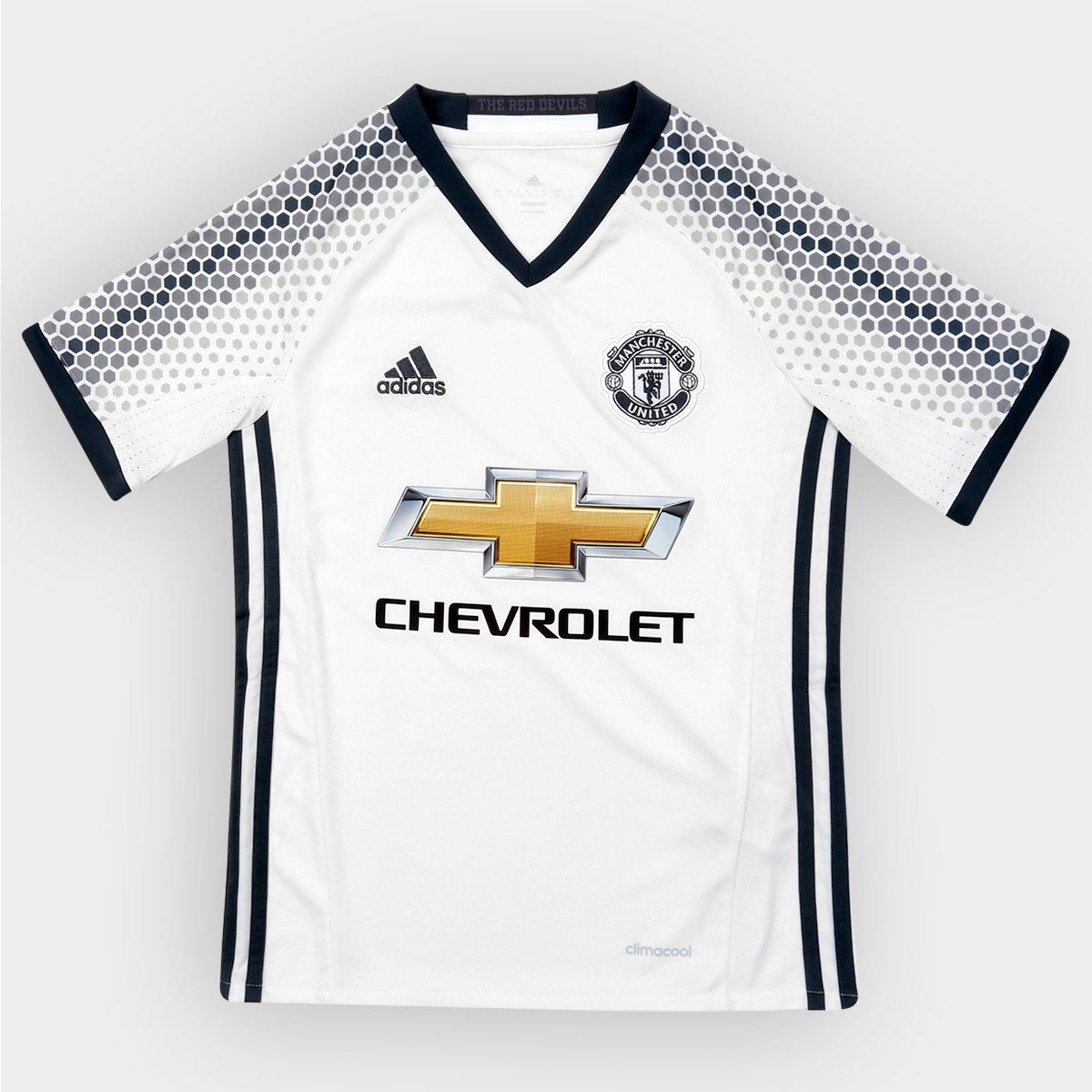 b3345a01d5 Camisa Manchester United Infantil Third 16/17 s/nº - Torcedor Adidas |  Allianz Parque Shop