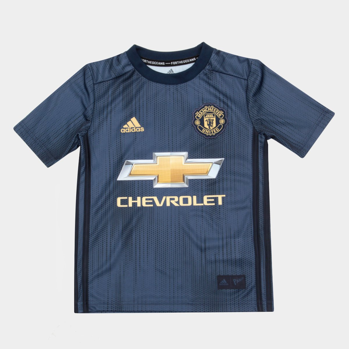 Camisa Manchester United Infantil Third 2018 s n° - Torcedor Adidas ... c3f711b33aa1b