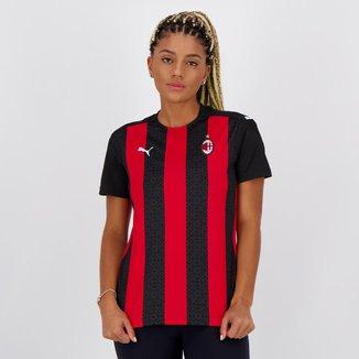 Camisa Milan Home 20/21 s/n° Torcedor Puma Feminina